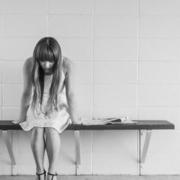 Sad woman who needs support through divorce