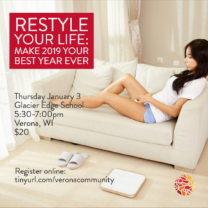 Restyle Your Life, Workshop, Mosaic of Self Coaching, Theresa Ann Stuesser, Verona, WI